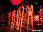 Filipina Bargirls Dance Naked on Stage